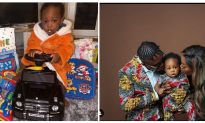 Zlatan celebrates son's first birthday with baby mama, Davita in London