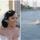 The touching moment when husband shed tears as wife surprises him with a yacht as a wedding gift [VIDEO]