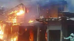 Tears as fire guts shops in Ilorin-TopNaija.ng