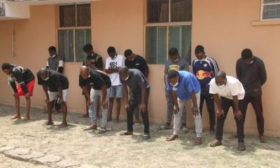 EFCC arrest 13 suspected internet fraudsters in Lagos-TopNaija.ng