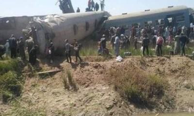 Egypt: Two trains crash killing at least 32 and injuring over 66 -TopNaija.ng
