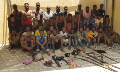 Police arrest women with gun, 56 suspected cultists and armed robbers in Lagos-TopNaija.ng