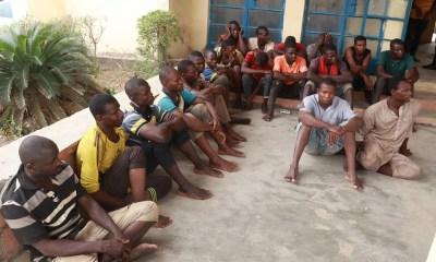 Police arrest 21 suspects for railway vandalism in Niger State-TopNaija.ng