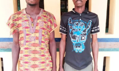 Police arrest two men for allegedly gang raping the 16-year-old daughter of their neighbor (photo)-TopNaija.ng