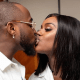 Chioma and davido kiss