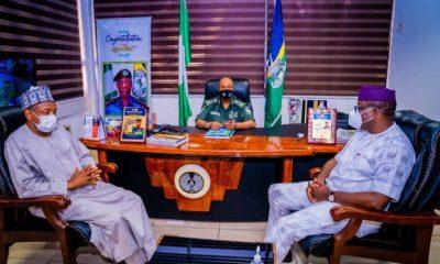 Fayemi, Bagudu meet IG to address insecurity