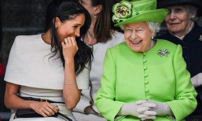 Meghan Markle with Queen Elizabeth