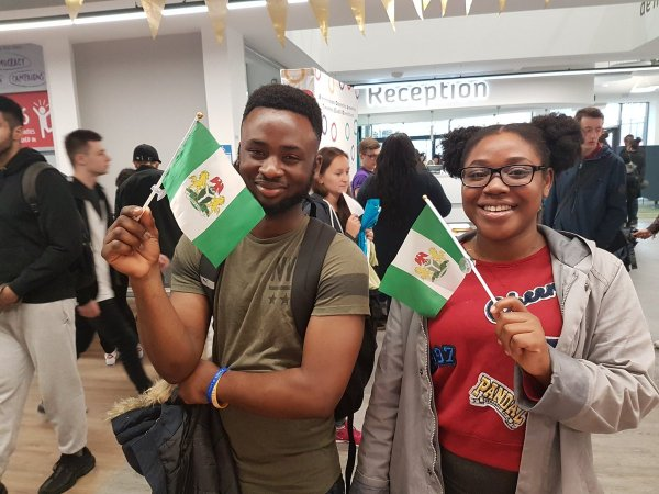 Nigerian students in united states