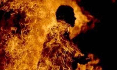 Nigerian man sets himself, ex-wife and 2 children ablaze in Ibadan-TopNaija.ng