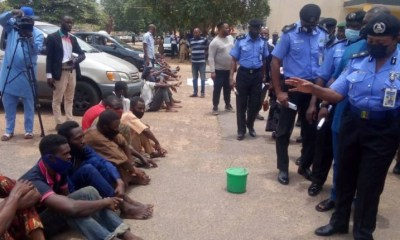 Police paraded five persons in Ibadan for selling human heart at N10,000 in Ibadan-TopNaija.ng