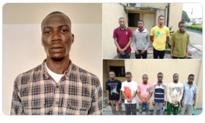 How court convicted 11 internet fraudsters in Port Harcourt [PHOTOS]-TopNaija.ng
