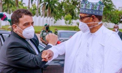Buhari hosts Libyan Prime Minister, Dbeibeh at Aso Villa [PHOTOS]
