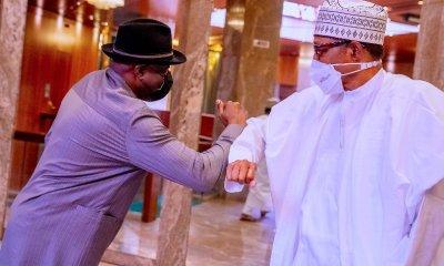 Buhari meets Jonathan, calls for resolution of political crisis in Mali