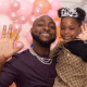 Davido surprises 5-year-old daughter, Imade, with a multi-million Range Rover as birthday gift