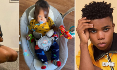 I fed you! I clothed you! - Baby mama of fast rising singer, Lyta drags him for refusing to celebrate son's birthday