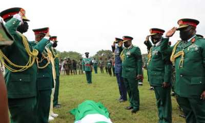 Army mourns as General Ahmed is laid to rest in Abuja [PHOTOS]