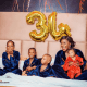 'Grateful 34' - Actress, Chacha Eke as she shares her 34th birthday pictures with family
