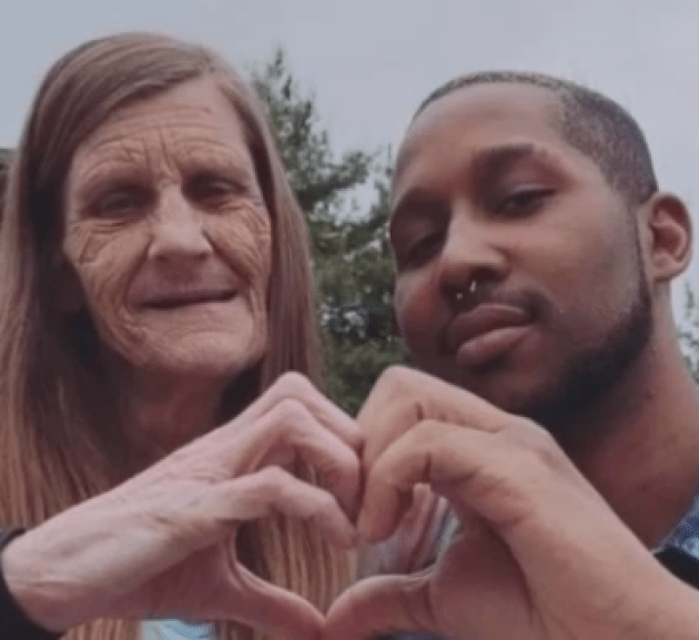 24-year-old boyfriend engages 61-year-old grandma [PHOTOS]