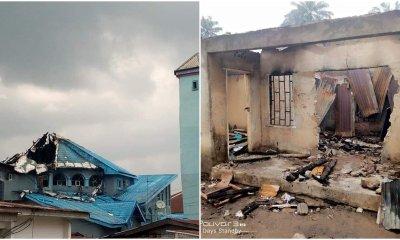 Mysterious fire razes school, hotel in Akwa Ibom-TopNaija.ng
