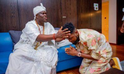 Patoranking visits Ooni Of Ife