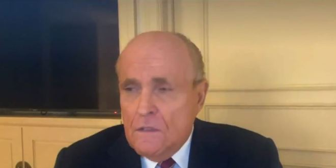 Rudy Giuliani Claims The Election Was Stolen From Trump In 10 States