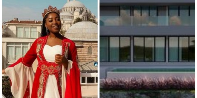 """""""I couldn't be more proud"""" - Nigerian woman shows off the house her 25-year-old daughter is building in Bali, Indonesia"""