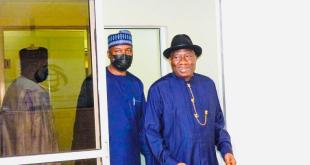 Jonathan says he isn't interested in the 2023 presidential race