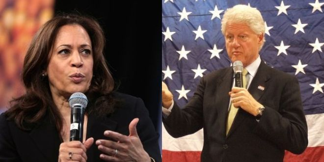 Kamala Harris Will Host 'Empowering Women And Girls' Discussion With Bill Clinton