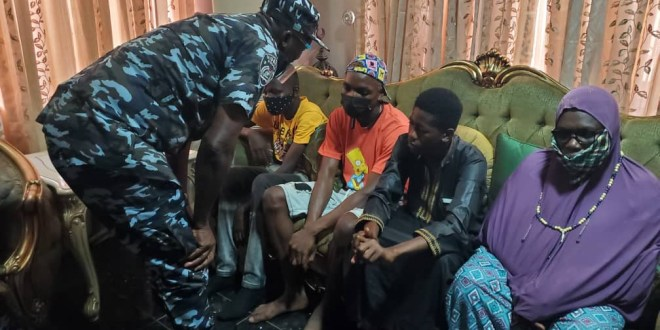 Lagos police commissioner visits family of man shot dead by police officer at a lounge in Lagos (photos)