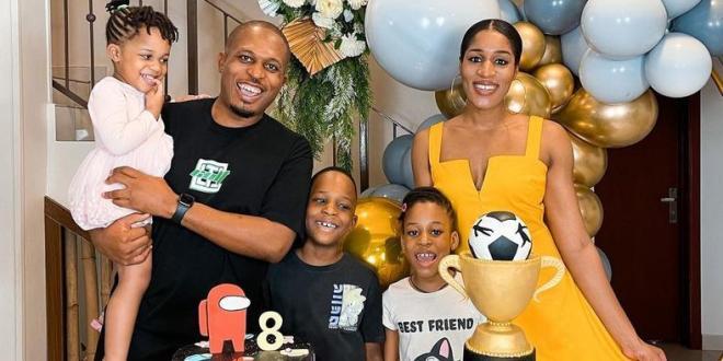 Naeto C celebrates son on his 8th birthday