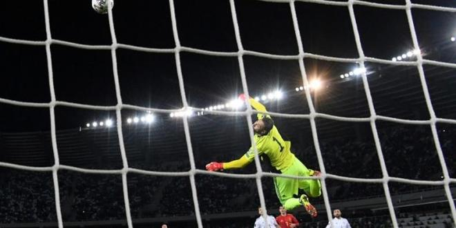Olmo rescues Spain in World Cup qualifying, Danes make statement
