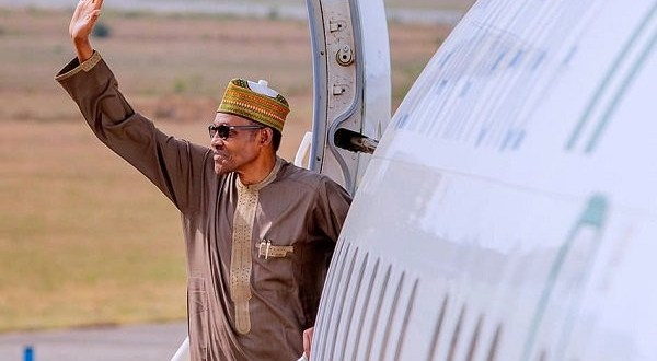 President Buhari jets out to the UK for his routine medical checkup