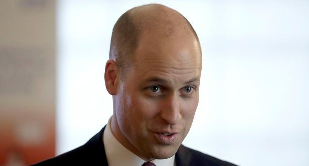 Prince William named World