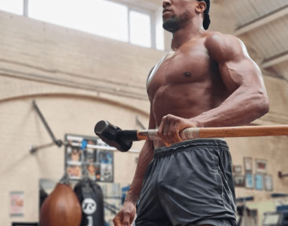 See the photo Anthony Joshua shared that is causing a stir online