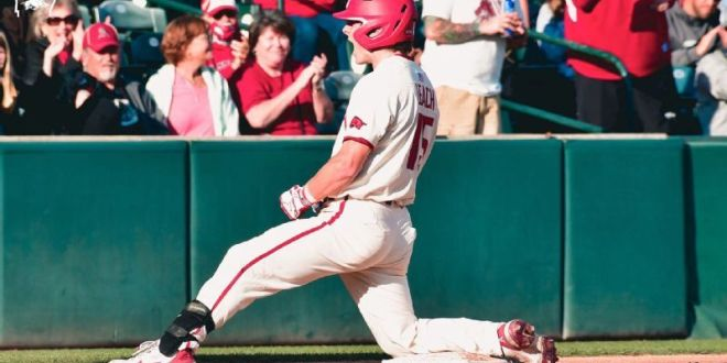Arkansas sweeps Little Rock in two-game series