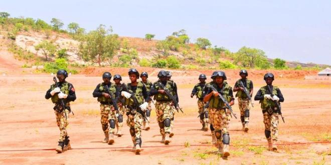 Buhari commends NAF troops for fighting crimes