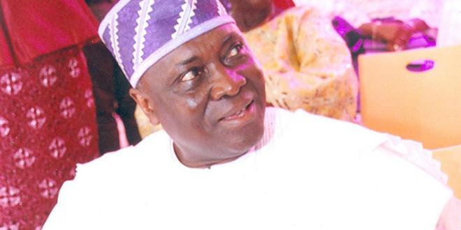 Buhari greets former IG Smith at 75