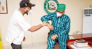 Davido Meets Governor Abiodun, Gifts Yinka Ayefele N1m [Video]