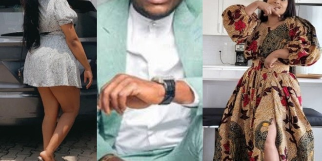 """""""Fighting over an overused washed up man"""" Ubi Franklin caught in crossfire as his baby mama and alleged current girlfriend fight dirty"""