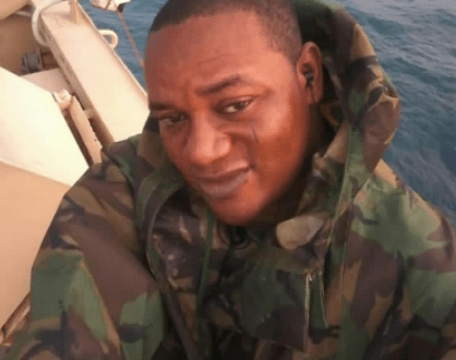 Nigerian Naval officer escapes from kidnappers den after disarming one of his abductors and using the weapon to kill them
