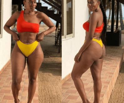 OAP Destiny Amaka, shows off her hot body in sexy bikini photos