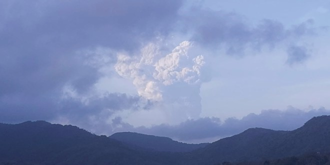 St Vincent warns of water shortages as volcano eruptions continue