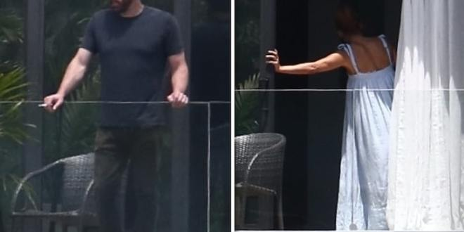 Ben Affleck and Jennifer Lopez in Miami [TMZ]