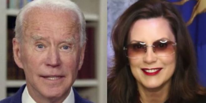 Biden Praises Whitmer As 'Honorable' As Her Private Jet Scandals Heat Up