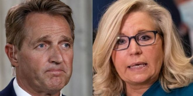 Ex-GOP Senator Flake Whines About 'Awful' Liz Cheney Ousting – GOP Is 'President Trump's Party Now'