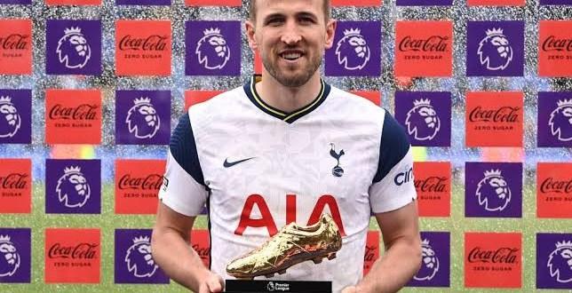 Harry Kane wins the Premier League Golden Boot matching Alan Shearer