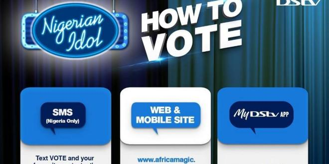 How to vote your favourite Nigerian Idol contestant