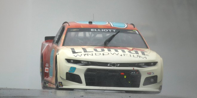 NASCAR at COTA results: Chase Elliott wins wet, wild EchoPark Texas Grand Prix after stoppage