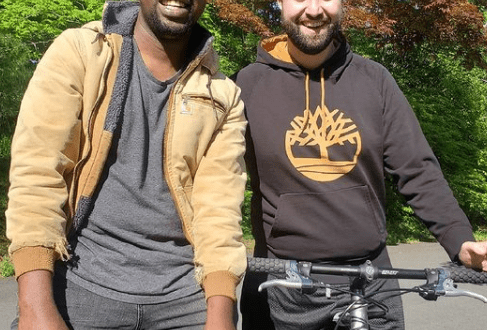 Nigerian gay rights activist, Edafe Okporo, and his lover, Nick, get engaged