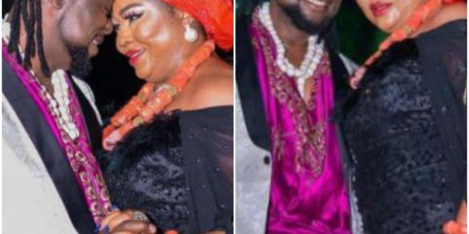Nigerians Drag Regina Daniel's Mother, Rita After She Secretly Marries Her Young Lover